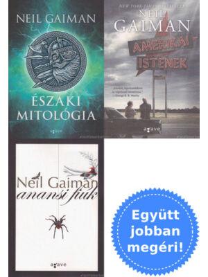 3 Neil Gaiman könyv mitológiáról és istenekről