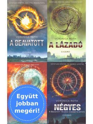 A beavatott sorozat 4 könyve csomagban [Veronica Roth]
