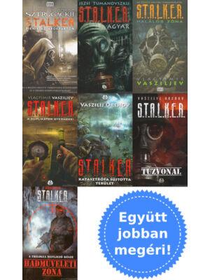 7 Stalker könyv csomagban