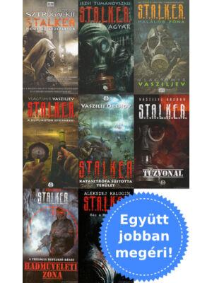 8 Stalker könyv csomagban