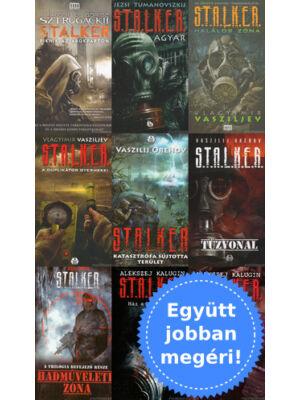 9 Stalker könyv csomagban