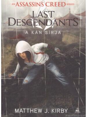 A kán sírja [Assassin's Creed: Last Descendants sorozat 2. könyv]