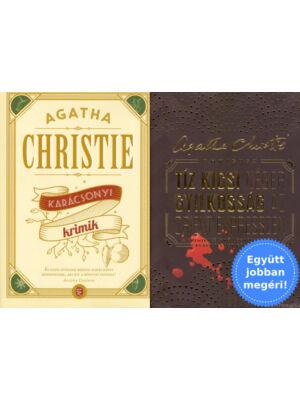 Agatha Christie könyvklasszikusok csomagban