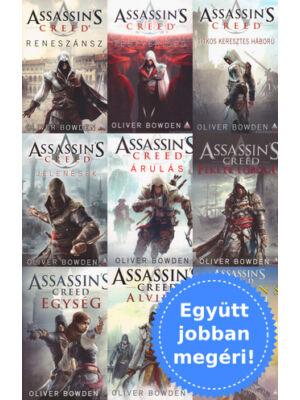 A teljes Assassin's Creed könyvsorozat csomagban [1-9. rész]