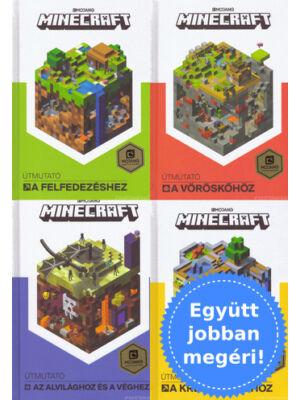 4 Minecraft útmutató csomagban