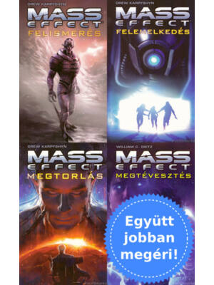 A teljes Mass Effect sorozat csomagban [William C. Dietz, Drew Karpyshyn]
