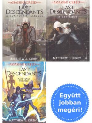 A teljes Assassin's Creed: Last Descendants sorozat csomagban [Matthew J. Kirby]