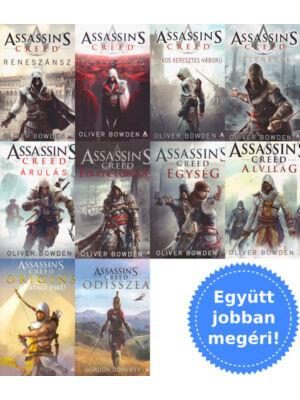 A teljes Assassin's Creed könyvsorozat csomagban [1-10. rész]