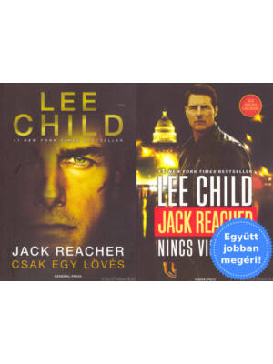 Megfilmesített Jack Reacher könyvek csomagban [Lee Child]