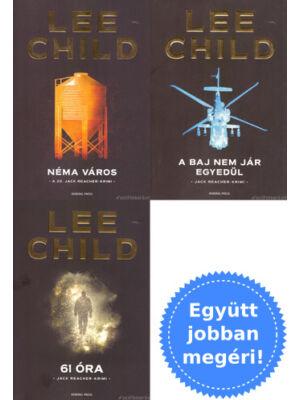 TOP 3 Jack Reacher könyv csomagban [Lee Child]