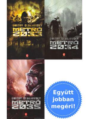 A teljes Metró 2033 trilógia [3 könyv Dmitry Glukhovskytól]
