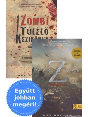 World War Z + Zombi túlélő kézikönyv Max Brookstól