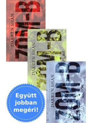 Darren Shan 3 Zom-B könyve csomagban