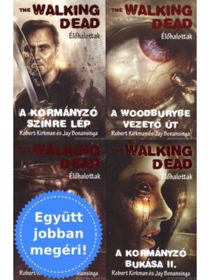 4 The Walking Dead könyv egy csomagban