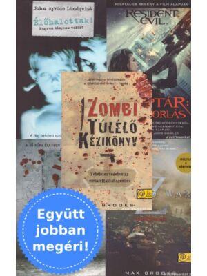 Zombi all-in – 5 zombi könyv csomagban