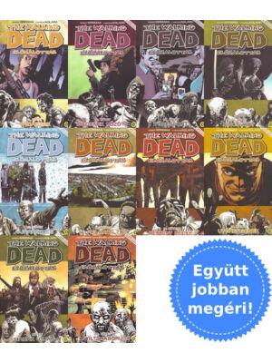 A 11-20. The Walking Dead képregény csomagban