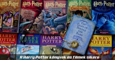 Harry Potter könyvek borítói