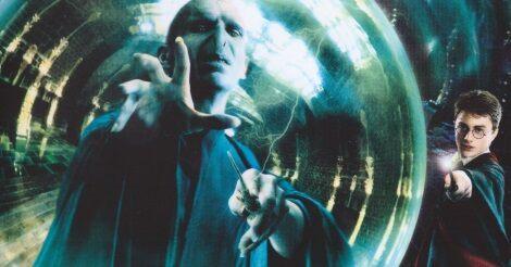 Voldemort a jóslatért küzd a Harry Potter és a Főnix rendjében