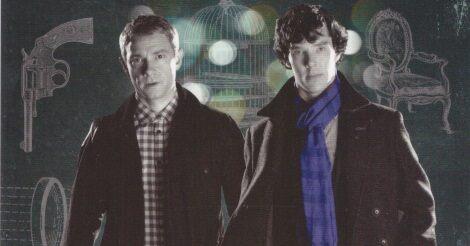 Martin Freeman és Benedict Cumberbatch a BBC új Sherlock Holmes feldolgozásában