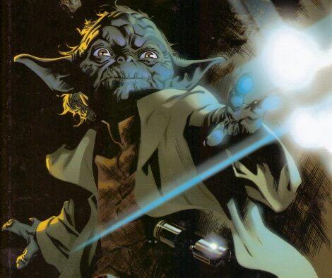 Yoda az egyik Star Wars képregény borítójáról