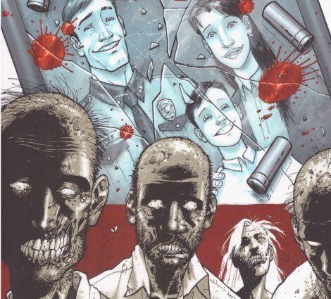 Walking Dead képregény illusztráció