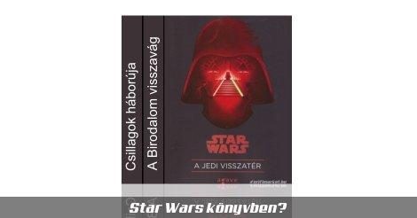 Star Wars eredeti trilógia könyvek