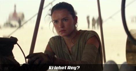 Rey a Jakku sivatagában