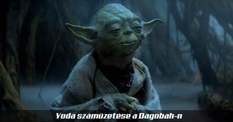 Yoda a Dagobah mocsarában
