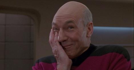 Patrick Stewart a Star Trekben