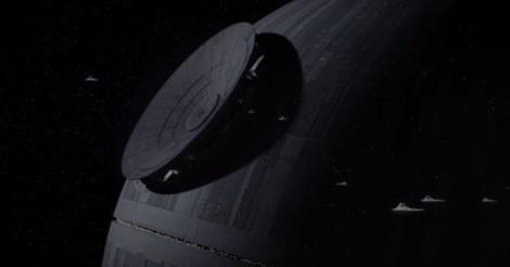 Az első Halálcsillag építése a Zsivány egyes: egy Star Wars történetben
