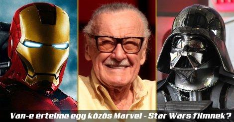 Vasember, Stan Lee, Darth Vader - a Marvel és a Star Wars világ képviselői, és aki a kettőt vegyítené