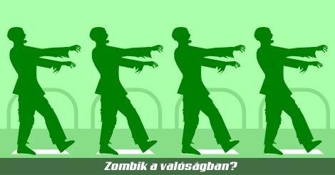 Zombik a valóságban - egy utcán