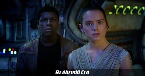 Rey és Finn Az ébredő Erőből