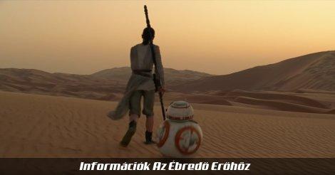 Rey és BB-8 Az ébredő Erőben (Jakku sivatagában)