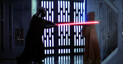 Darth Vader és Obi-wan Kenobi párbaja