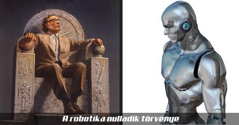 Asimov és egy robot