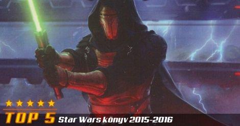 Star Wars TOP 5 illusztráció a 2015-2016-os évre