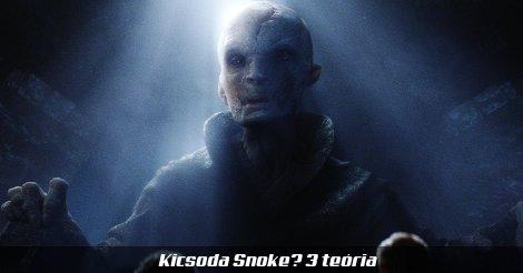 Snoke fővezér hologramja