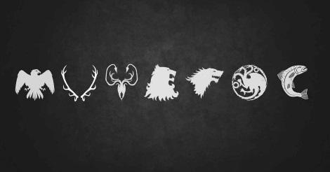 A Trónok harcában szereplő nemesi házak címerállatai