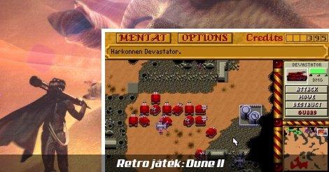Dune II retro játék megemlékező kép