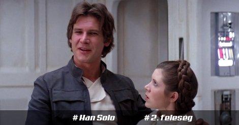 Han Solo és második felesége, Leia hercegnő