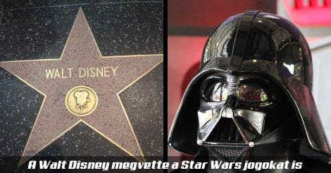 A Star Wars franchise új tulajdonosa a Walt Disney