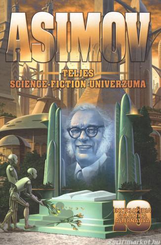 Asimov korábban kiadatlan műveinek borítója