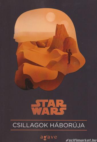 a Csillagok háborúja filmkönyv borítója