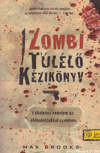 a Zombi túlélő kézikönyv c. kötet borítója